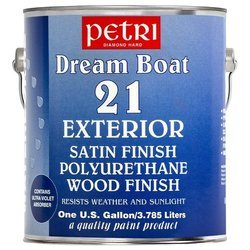 Лак Petri Dream Boat 21 Exterior шелковисто-полуматовый (3.78 л)