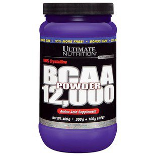 BCAA Ultimate Nutrition BCAA Powder 12000 (400 г)