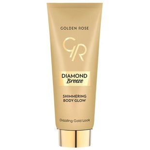 Крем для автозагара Golden Rose Diamond breeze shimmering body glow 01 Dazzling gold look