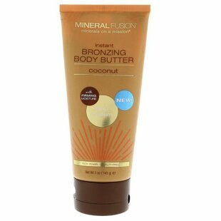 Масло для автозагара Mineral Fusion Instant Bronzing Body Butter Light Medium Coconut