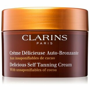 Крем для автозагара Clarins Delicious Self-Tanning Cream